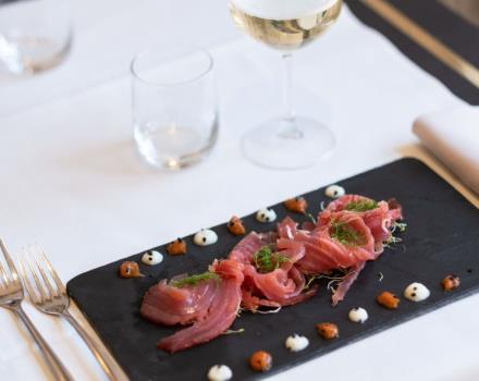 Fresh, elegant and tasty dishes for a great lunch break near Verona