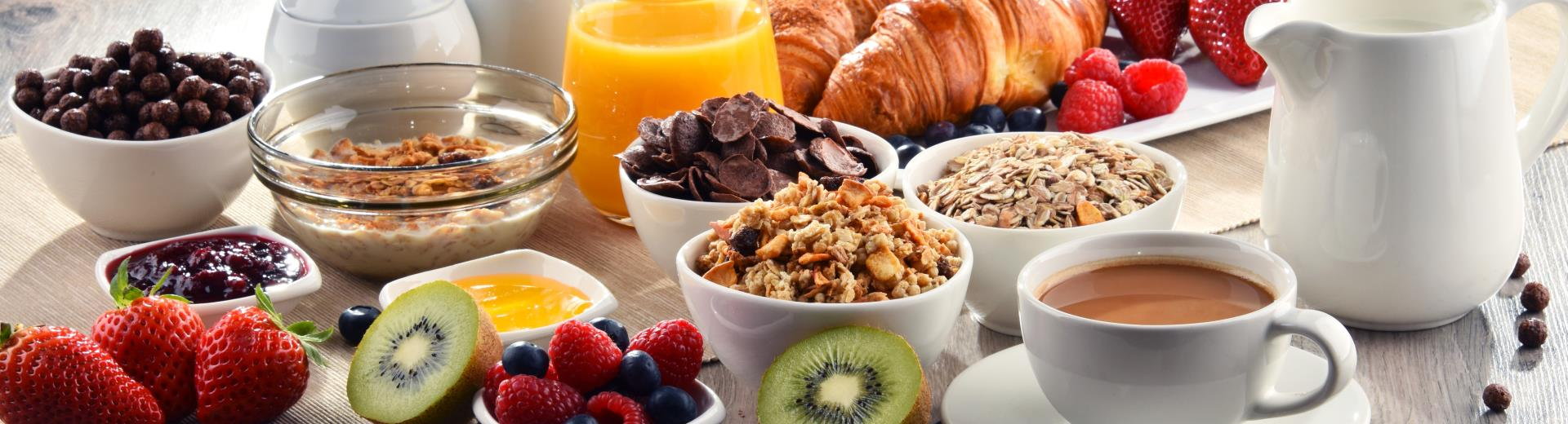 For Best Western Rewards® Platinum, Diamond and Diamond Select members breakfast is free!